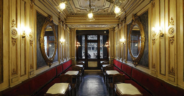 Cafe Florian Venise Salle stagioni